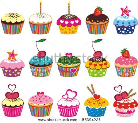 Image from http://thumb9.shutterstock.com/display_pic_with_logo/154612/154612,1317051632,2/stock-vector-illustration-of-isolated-set-of-cupcake-on-white-background-85394227.jpg.