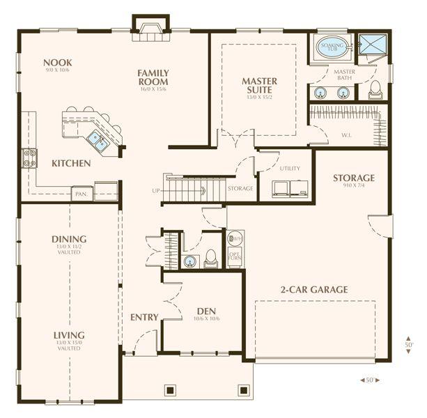 virtual great room floor plan stanbrooke custom homes home construction custom floor plans - Custom Floor Plans