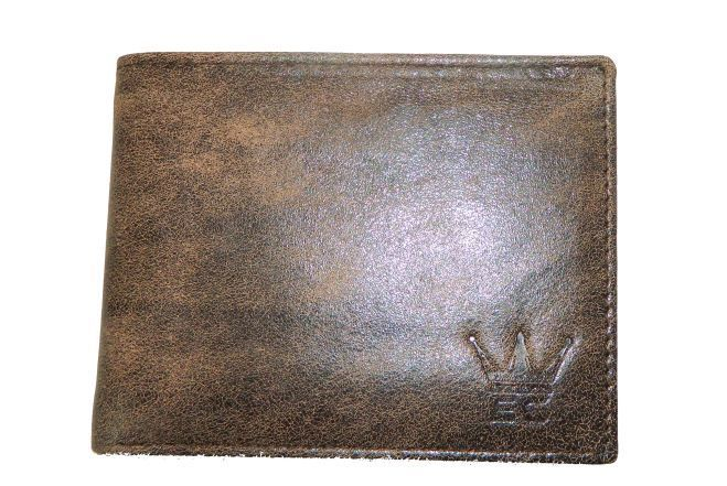 Stylish Leather Wallet For Men Gents Color Brown With Card Holder