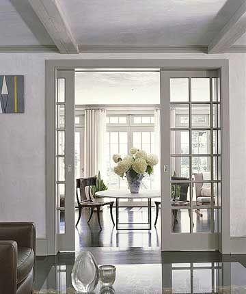 Best 20 french doors inside ideas on pinterest for Sliding doors that look like french doors