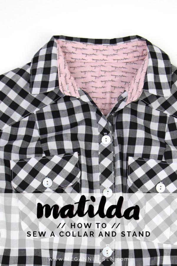 How to sew the collar and stand // A Matilda dress tutorial http://blog.megannielsen.com/2017/08/sew-collar-stand-matilda-dress-tutorial/?utm_campaign=coschedule&utm_source=pinterest&utm_medium=Megan%20Nielsen%20Patterns&utm_content=How%20to%20sew%20the%20collar%20and%20stand%20%2F%2F%20A%20Matilda%20dress%20tutorial