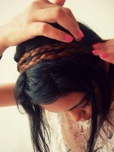 headband braid in www.limonadacerezada.com