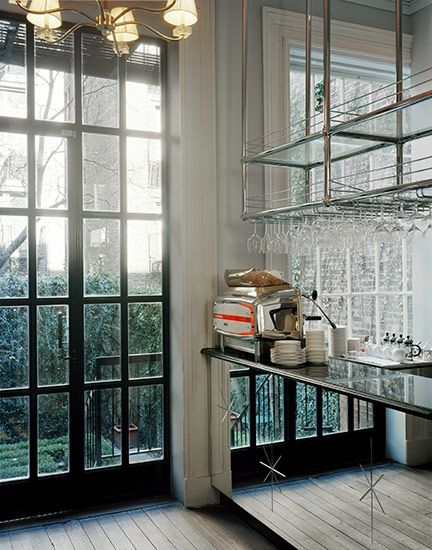 Love This.. Mirrored Bar?