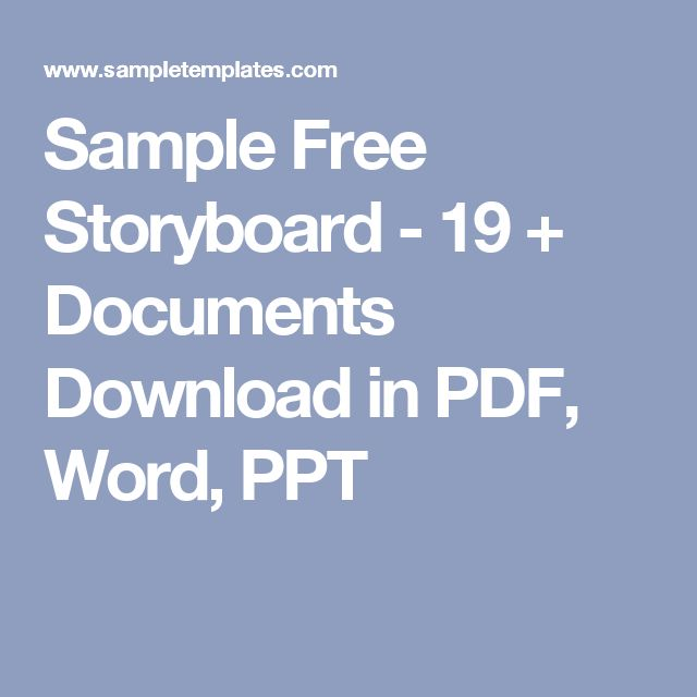 The 25+ best Storyboard pdf ideas on Pinterest Download comics - digital storyboard templates