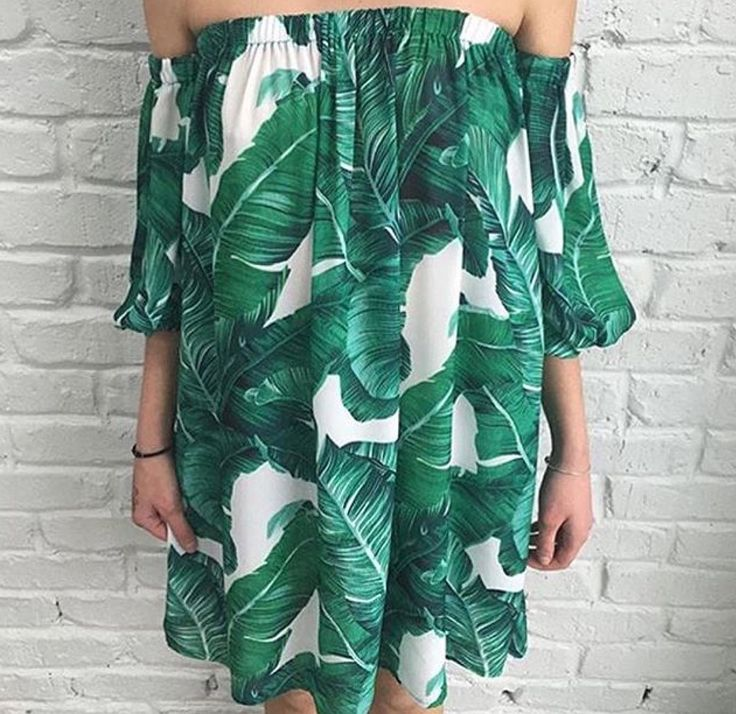 Bagira The Label Troppo Banana Leaf Dress