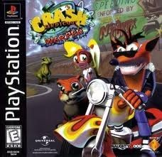 Complete Crash Bandicoot:Warped - PS1 Game