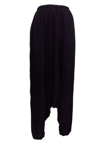 Boho Black Harem Gypsy Pants – 365 Days Of Resort Wear