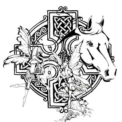Best And Unique Pictures Celtic Horse Tattoo