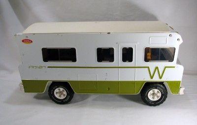 1960 S Vtg Tonka 23 Quot Indian Winnebago Rv Motorhome Camper