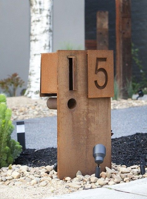 Loving this letterbox! Design by Paal Grant!