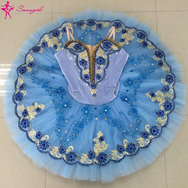 Chegada de novo! azul tutus de balé profissional azul tutu para meninas ballet fase tutu panqueca balé o lago dos cisnes costumesBT9093(China (Mainland))