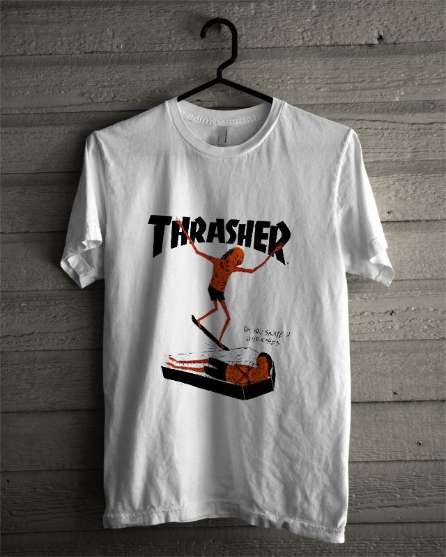 Thrasher Neckface T Shirt in 2019  9b966a2e8c