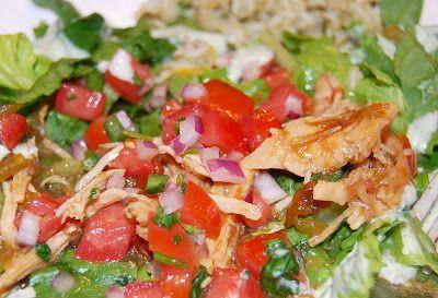 See Jane Blog: bajio chicken green chile salad!