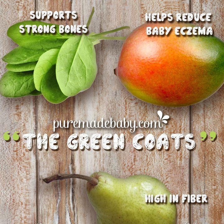 Puremade Baby | The Green Coats | Organic Baby Food Recipe