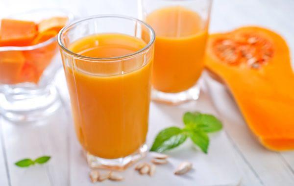 Pompoensap smoothie - ontbijt smoothie