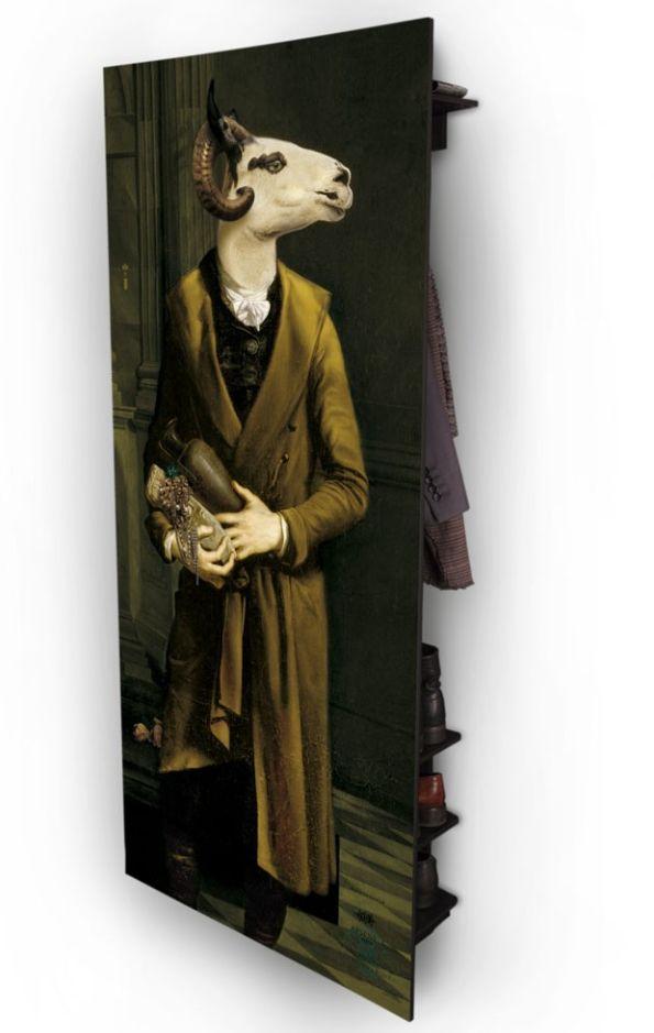 Arsène Wall Wardrobe - Les Valets by ibride