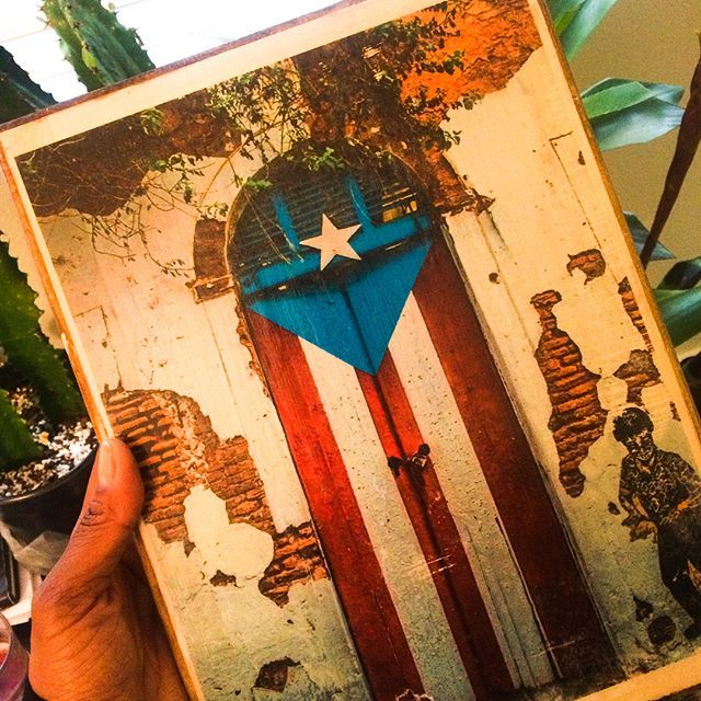 Puerto Rico, prints on wood, wall art, art on wood, holiday gifts, PR flag, PR flag door, Island art, kitchen decor, print on wood, art by LenadelSolPhoto on Etsy   https://www.etsy.com/listing/260894763/puerto-rico-prints-on-wood-wall-art-art