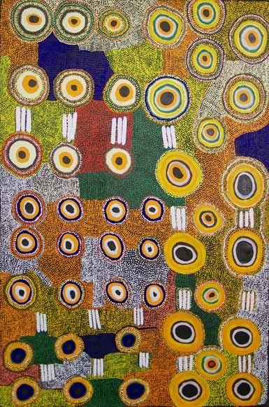 Taylor Cooper / Malara; Wanampi Tjukurpa   2011  183 x 122 cm