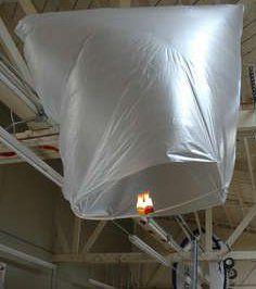 Esperimenti scientifici per bambini - Come realizzare una mongolfiera 2