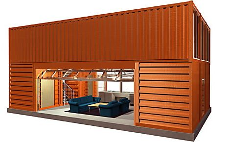 40ft shipping container home