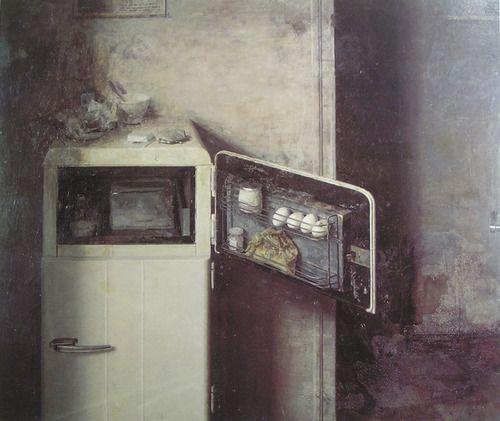 El aparador    paint by Antonio López, 1965-1966
