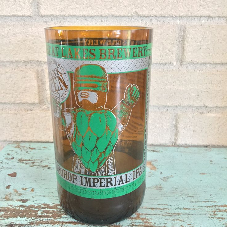 """Bottle of the Week #6 Bottle: Great Lakes Brewery Robohop Imperial IPA Size: 1 Pint 6oz Polishing Time: 3 minutes 55 seconds Comment: Robohop..""""I'd buy that for a dollar!"""" Check out our weekly post here http://bit.ly/1n6Uye8"""