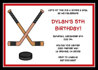 43 best Hockey Party images on Pinterest Hockey party Hockey