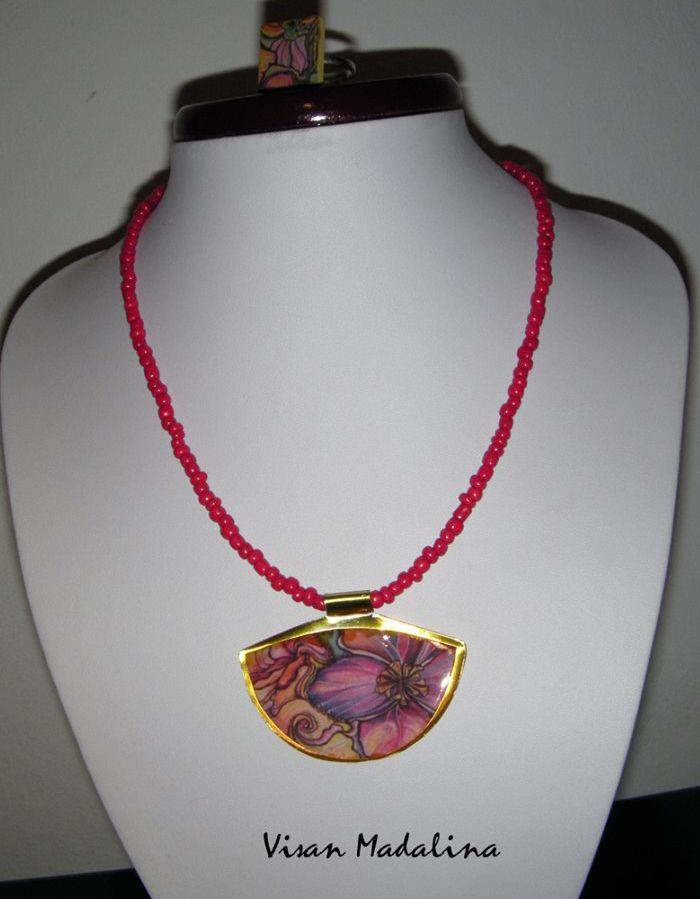 Medalioane din lut polimeric, baze metalice