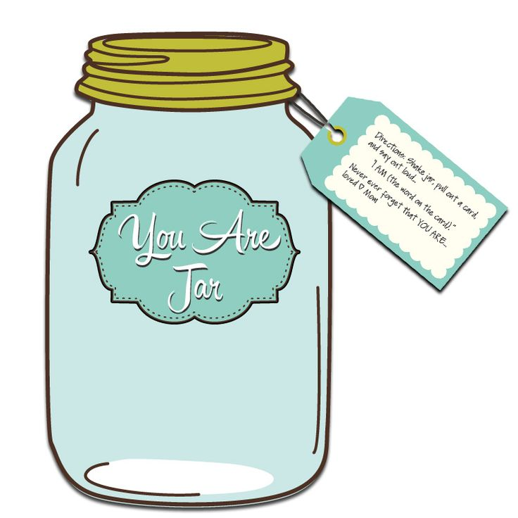 The YOU ARE Jar of Positive Affirmations is a fast and easy DIY project you can do for your children, friends, and family.