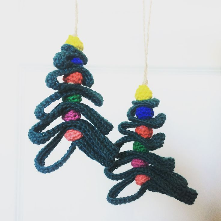 Moes juletræ med kugler. Gratis opskrift!