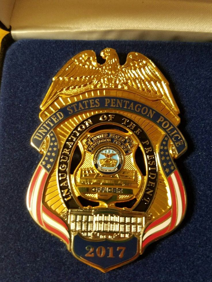 United States Pentagon Police Badges Police patches