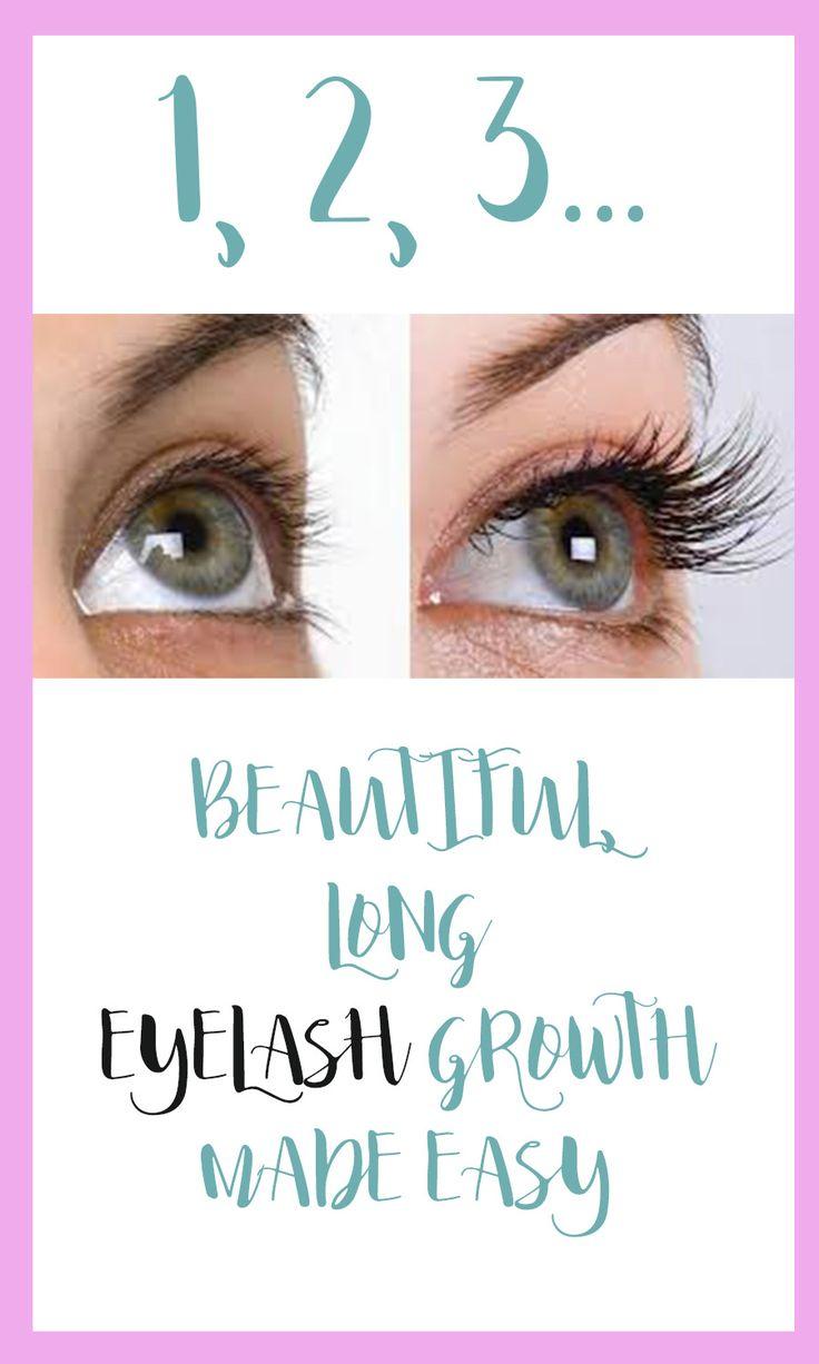 Tired of short eyelashes? Make the grow extra long.