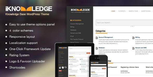 iknowledge-knowledge-base-wiki-wordpress-theme