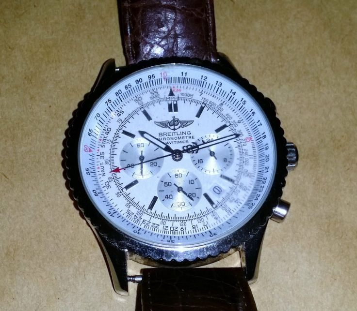 Breitling Chronometre Navitimer Mans Wristwatch