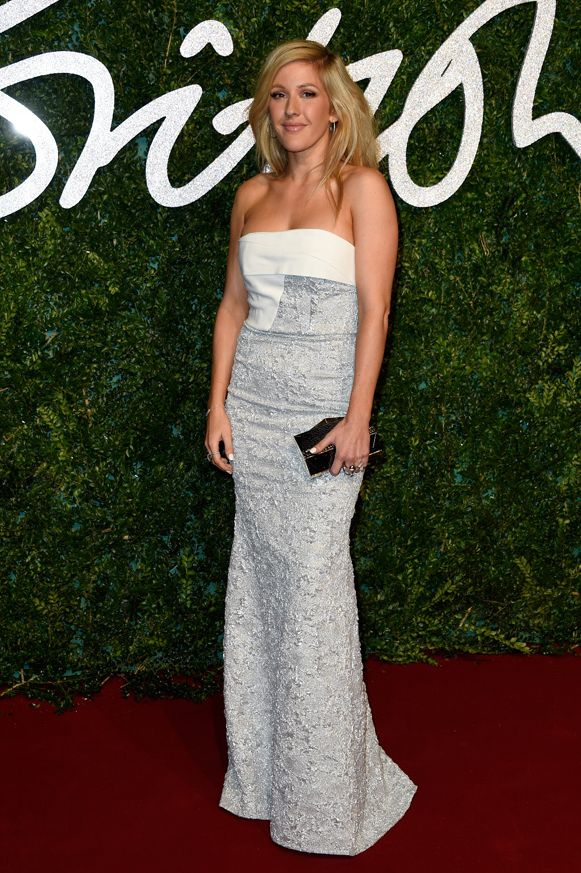 Ellie Goulding at the British Fashion Awards 12.1.14