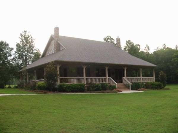 168 best one story ranch farmhouses with wrap around for Ranch with wrap around porch