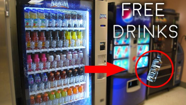food vending machine hack code