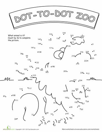 These super fun worksheets will give second graders some great practice with skip counting. They'll love coloring in the cute animals when they're done!