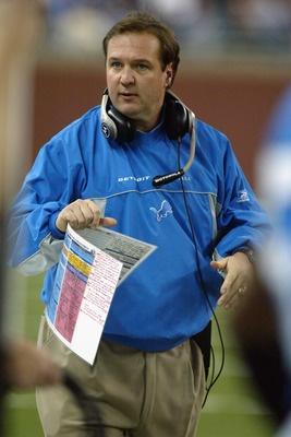 Marty Mornhinweg - Detroit Lions - Head Coach