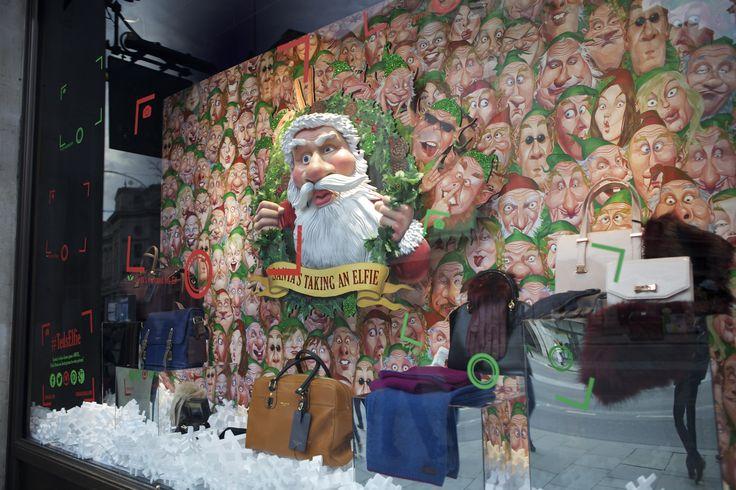 Take an 'elfie' at @tedbaker in #RegentStreet this #Christmas.