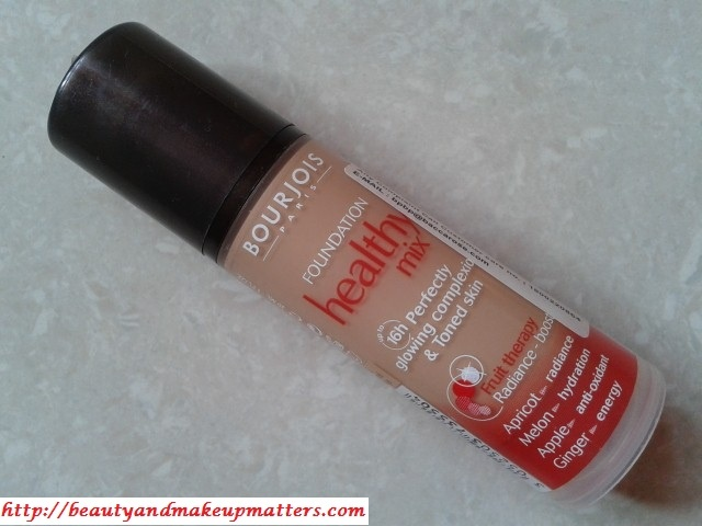 Bourjois Paris Healthy Mix Foundation – Beige 54 Review