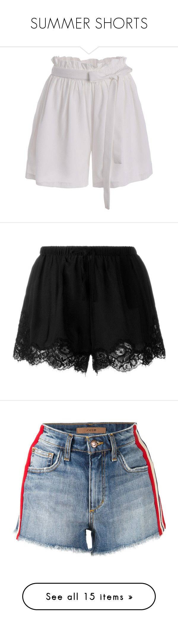 """""""SUMMER SHORTS"""" by woodsenlikethis ❤ liked on Polyvore featuring clothes, summershorts, shorts, bottoms, rosegal, culottes shorts, plus size shorts, womens plus size shorts, plus size culottes and pants"""