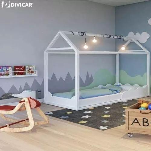 25 melhores ideias sobre cama montessoriana no pinterest - Cama para nino de 2 anos ...