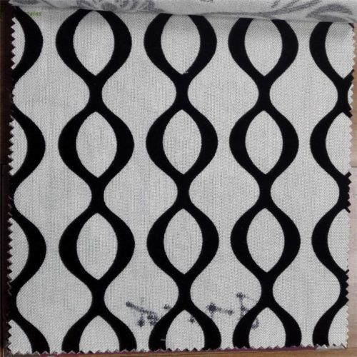 Traditional flocked fabric for sofa covers brown color flower design20