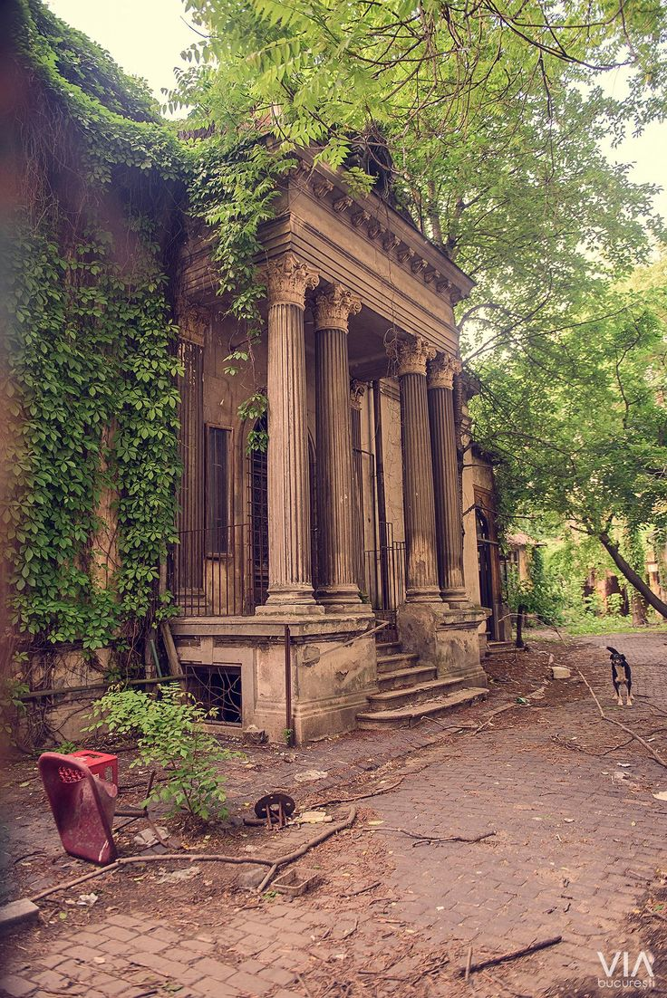 Abandoned house, Bucharest, str. Nicolae Filipescu, www.romaniasfriends.com