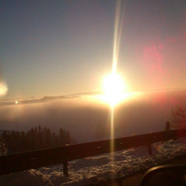 Východ slnka. #Sunrise ;). #slovakia #magura