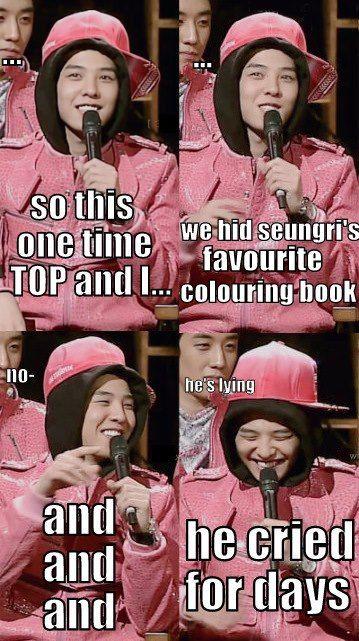 Hahaha OMG G-Dragon XD
