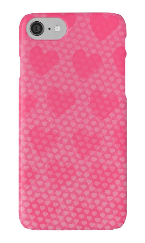 Pink Designer Princess by XOOXOO  cute harts  iPhone Cases & Skins  PHONE CASE FOR IPHONE 4/4S/5/5C/5S/6/6 PLUS/ 7/7 PLUS