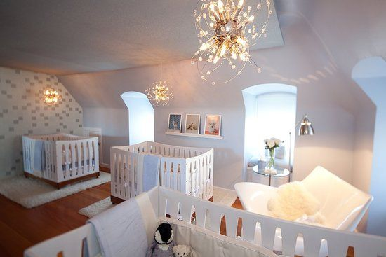 Triplet Nursery. I won't ever need it, but it's gorgeous!