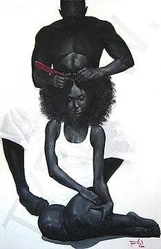 Aaawww: Black Artworks, Love You, Queen, My Husband, Braids Afro Hair, Beautiful Black, Black Love Artworks, Afro Hair Braids, Natural Hair Art